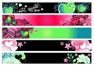 vector banner set