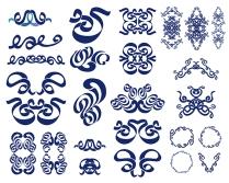 vector doodle design elements