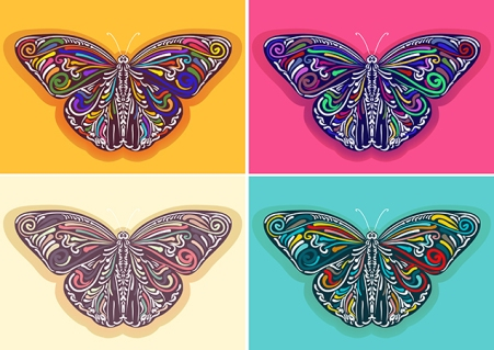 Vector Butterflys Illustration