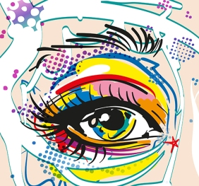 Vector Pop Art Eye