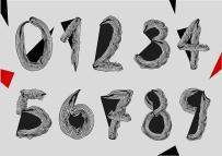Vector Doodle Numbers