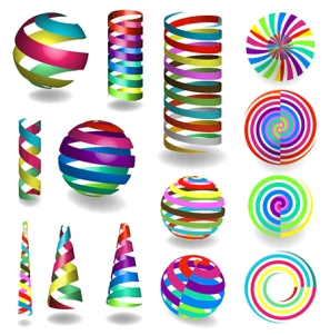Vector Colorful Shapes