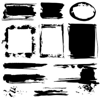 vector grunge design elements